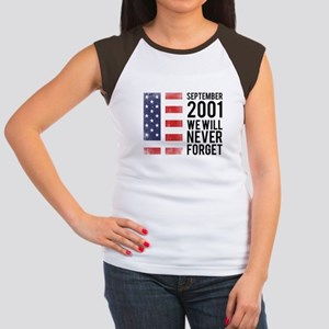 9 11 Remembering Women's Cap Sleeve T-Shirt