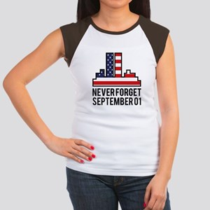 9 11 Never Forget Women's Cap Sleeve T-Shirt