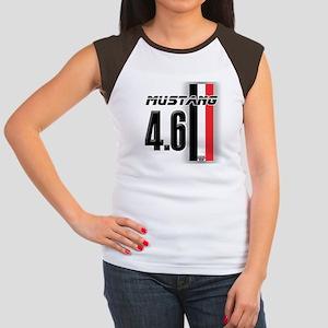 Mustang 4.6 Women's Cap Sleeve T-Shirt