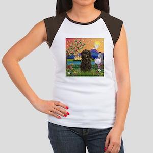 Affenpinscher in Fantasyland Women's Cap Sleeve T-