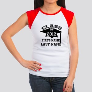 Customizable Senior Women's Cap Sleeve T-Shirt