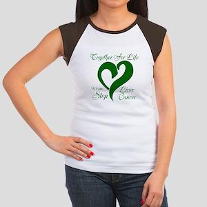 Personalize Back Women's Cap Sleeve T-Shirt