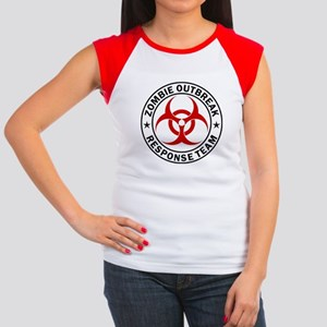Zombie Outbreak Response Team Women's Cap Sleeve T