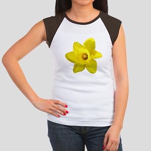 Daffodil Women's Cap Sleeve T-Shirt