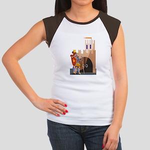 Knight Women's Cap Sleeve T-Shirt