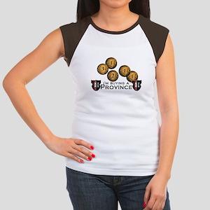 I'm buying a province. Women's Cap Sleeve T-Shirt