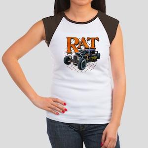 Diamond Plate RAT Women's Cap Sleeve T-Shirt