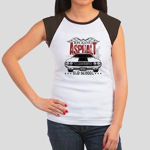 Kicking Asphalt - Challenger Women's Cap Sleeve T-
