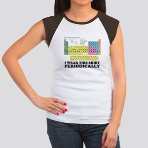 I wear this shirt periodically periodic table Wome