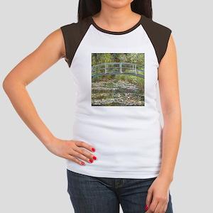Monet Bridge over Water Lilies T-Shirt
