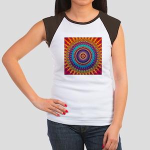 Fire and Ice mandala T-Shirt