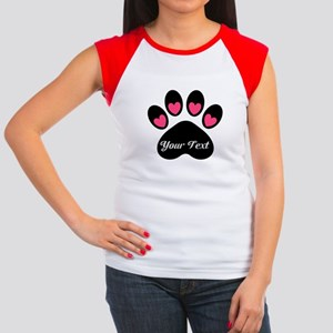 Personalizable Paw Print T-Shirt