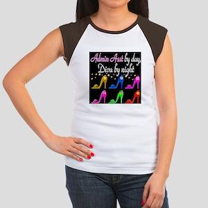 ADMIN ASST Women's Cap Sleeve T-Shirt