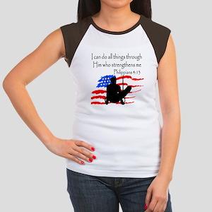 WINNING GYMNAST Women's Cap Sleeve T-Shirt