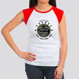 Custom Text Taurus Horoscope Zodiac Sign T-Shirt