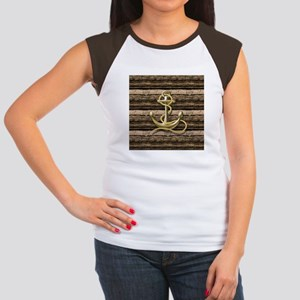 shabby chic vintage anchor T-Shirt