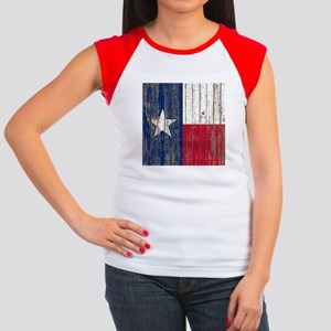 barn wood Texas Flag T-Shirt