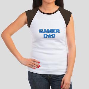 Gamer Dad Blue T-Shirt