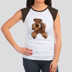 Heavily Deconstructed Vector Airedale Terr T-Shirt
