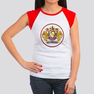 USS EVERSOLE Junior's Cap Sleeve T-Shirt