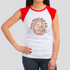 Thou Shall Not Kill Women's Cap Sleeve T-Shirt