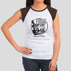 """Half Price Books"" Women's Cap Sleeve T-Shirt"