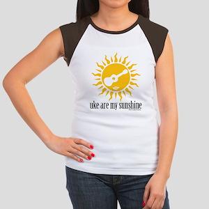 uke are my sunshine Women's Cap Sleeve T-Shirt
