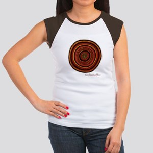 Aboriginal Mandala n3 Women's Cap Sleeve T-Shirt