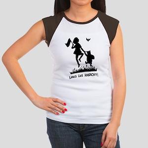 Long Live Anarchy Women's Cap Sleeve T-Shirt