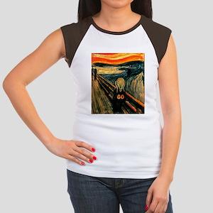 Scream 60th Women's Cap Sleeve T-Shirt