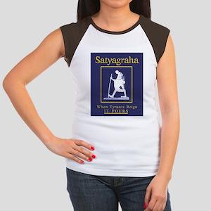 Satyagraha Women's Cap Sleeve T-Shirt