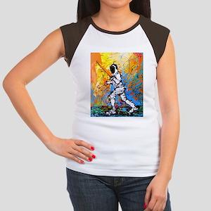 """""""The Approach"""" Women's Cap Sleeve T-Shirt"""