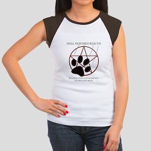Hell Hounds Rescue wt Women's Cap Sleeve T-Shirt