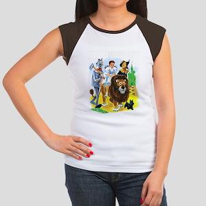 Wizard of Oz - Follow Junior's Cap Sleeve T-Shirt