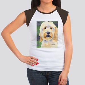 Goldendoodle Women's Cap Sleeve T-Shirt