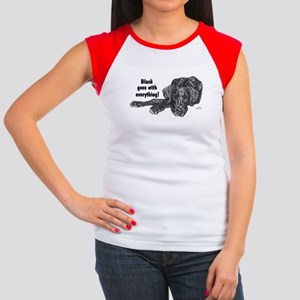 NBlkPup Everything Women's Cap Sleeve T-Shirt