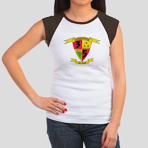 3rd Battalion 5th Marines Women's Cap Sleeve T-Shi