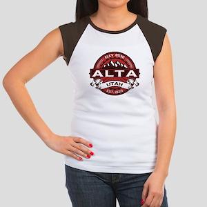 Alta Red Women's Cap Sleeve T-Shirt