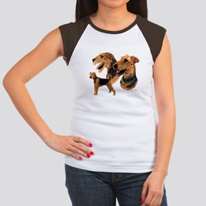 Airedale Terrier Women's Cap Sleeve T-Shirt
