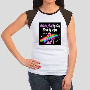 TOP ADMIN ASST Junior's Cap Sleeve T-Shirt