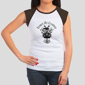 My Throne Hair style ch Women's Cap Sleeve T-Shirt