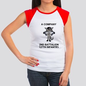 ARNG-127th-Infantry-A-C Women's Cap Sleeve T-Shirt
