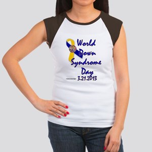 World Down Syndrome Day Women's Cap Sleeve T-Shirt