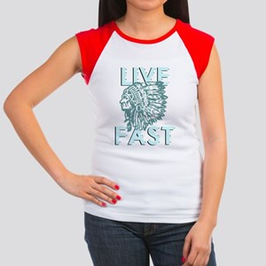 live fast dark Women's Cap Sleeve T-Shirt