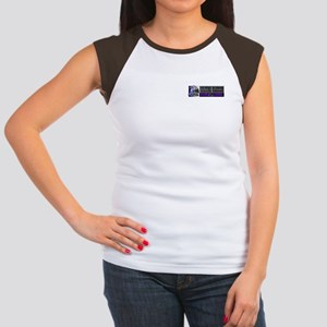 WE RESERVE THE RIGHT TO TELL  Women's Cap Sleeve T