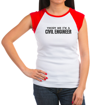Trust Me I m a Civil Engineer Women s Cap Sleeve T   Trust Me I m a ... 13b89eead
