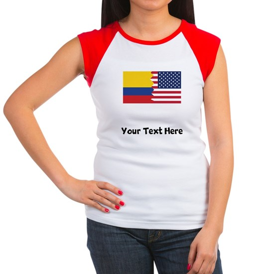 Colombian American Flag
