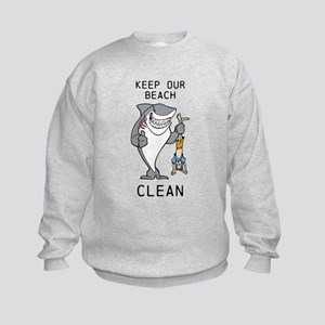 Clean Beaches Sweatshirt