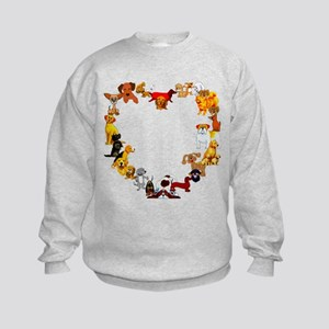 Dog Love Kids Sweatshirt