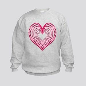 Hearts Kids Sweatshirt